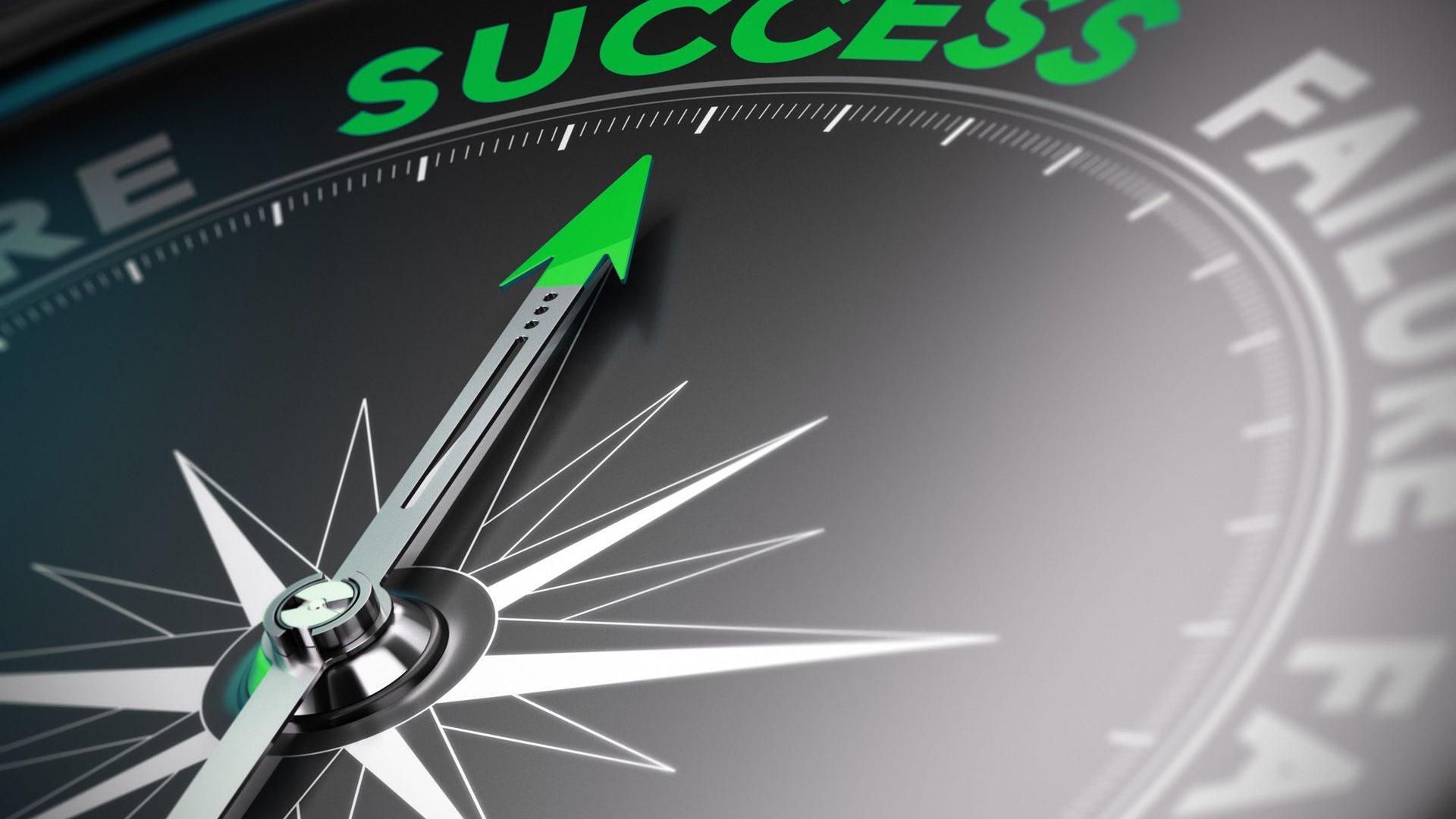 Der Weg zum Erfolg